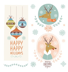 CHRISTMAS graphic elements vector image