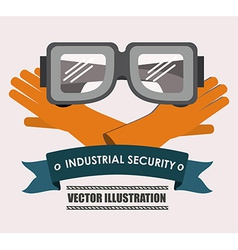 Industrial security desing vector