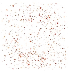 Red particles background vector