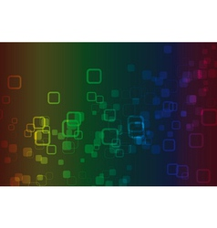 color spectrum abstract background vector image