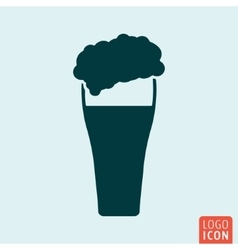 Beer icon isolated vector image vector image