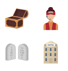 business restaurant travel and other web icon in vector image