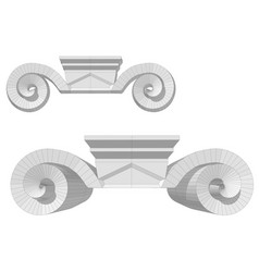 chapiter vector image