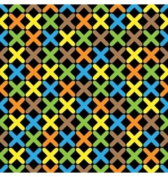 Color pattern 07 vector image vector image