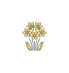 Flowers computer symbol vector