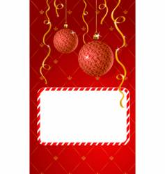 greeting card with copy-space vector image