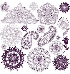Set design elements vector