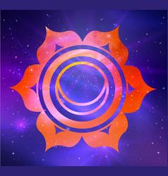 Svadhisthana chakra vector