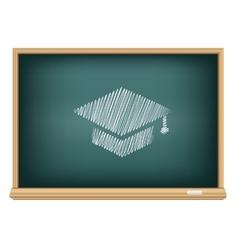 Board academic cap vector