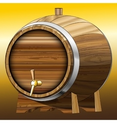 Beer barrel vector