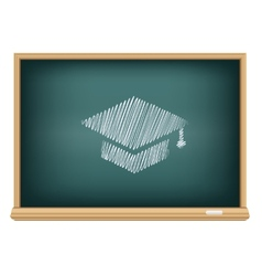 Board academic cap vector