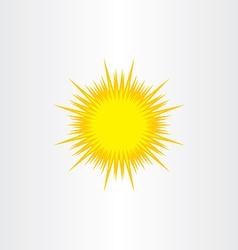 Energy solar sun icon symbol element sign vector