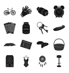 Garden transportation game and other web icon in vector