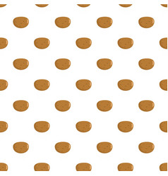 potato pattern seamless vector image