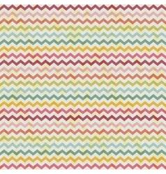 Retro color vintage popular zigzag chevron vector
