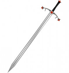 sword of the knight vector image vector image