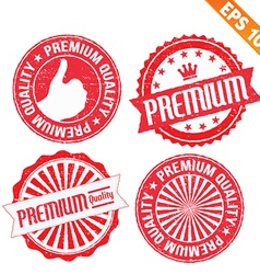 Stamp sticker premium collection - - eps10 vector