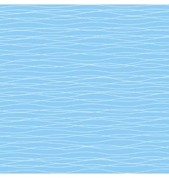 Blue wavy background vector image