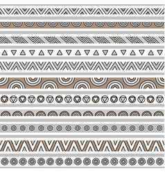 Brown and gray seamless pattern background vector