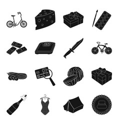 Clothing weapons game excitement and other web vector
