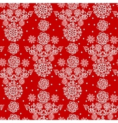 Floral Seamless pattern with flowers vector image vector image