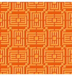 or puzzle Geometric seamless pattern Simple vector image