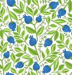 Berries pattern vector