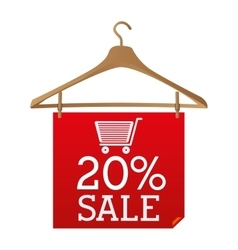 big sale design vector image