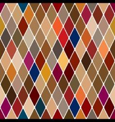 harlequin pattern vector image