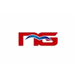 Ng letter logo vector