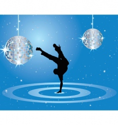 nightclub dancer vector image