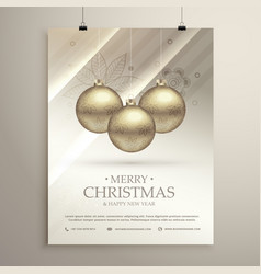 Silver background for merry christmas festival vector