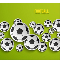 Football abstract background vector