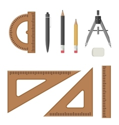 Architectural professional equipment vector