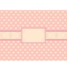 Day of valentine background vector