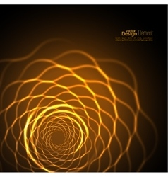 Abstract background with fracta vector