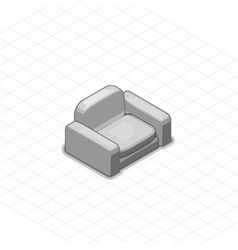 Armchair or couch vector image vector image