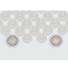 Card ornamental vector
