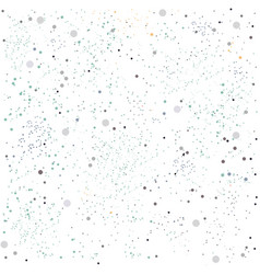 cute seamless pattern with dots dotted background vector image