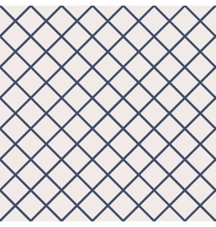 Seamless pattern with cross lines vector