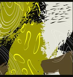 colorful splash background fashion vector image vector image