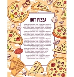 Pizza banner or flyer good as a template of vector