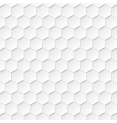 Abstract geometric background with hexagons vector