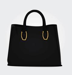 black women bag vector image