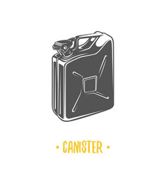canister vector image vector image