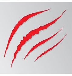 Grunge cat scratches4 vector