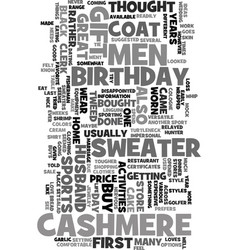Mens cashmere sweater text background word cloud vector