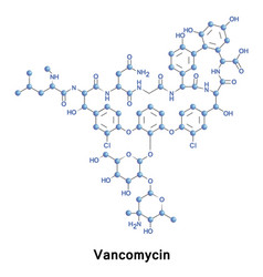 Vancomycin is antibiotic mrsa vector