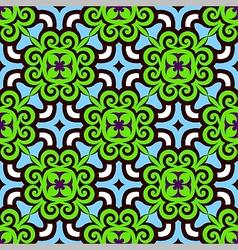 Pop art seamless tile vector image
