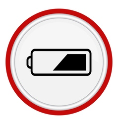 Icon battery vector